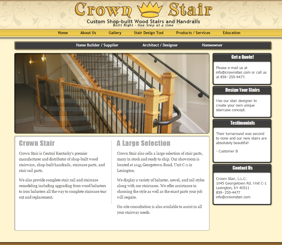 Crown Stair